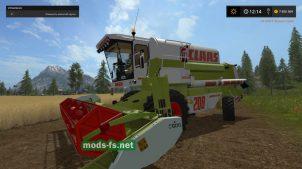 FS17 ClaasMega 208
