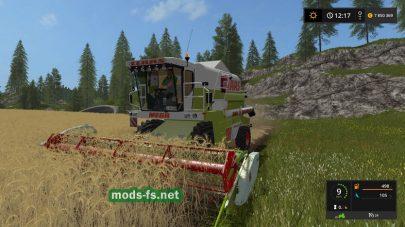 Зерноуборочный комбайн Claas Mega