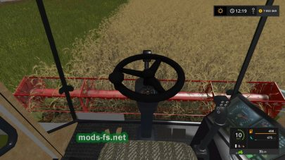 Мод комбайна Claas Mega 208 для Farming Simulator 2017