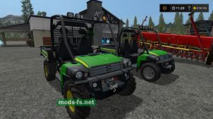 John Deere HPX Gator mods