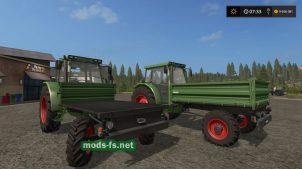 Трактор FENDT GT255 для FS 17