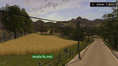Дорога и поле