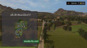 Схема карты «The Old Stream Farm»