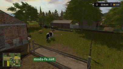 Коровы на карте «Bockowo 1996»
