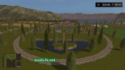 Парк на карте Small Town USA