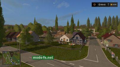 Карта «Где-то в Тюрингии» для FS 17