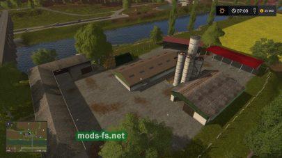 Заводы на карте «Где-то в Тюрингии»