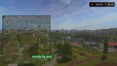 Схема карты «Где-то в Тюрингии»