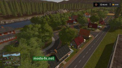Деревня на карте «Kyffhauser»