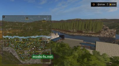Схема карты «Kyffhauser»