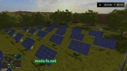 Солнечные батареи в FS 2017