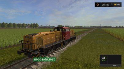 Управляемый мод поезда