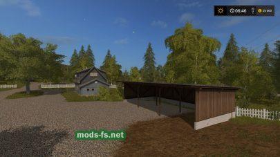 Карта с небольшими полями для игры Farming Simulator 2017