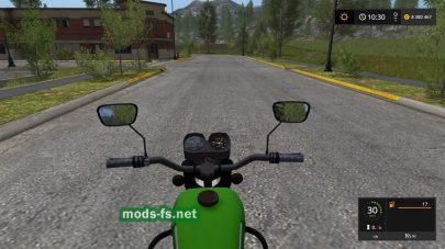 Мод ИЖ с коляской для Farming Simulator 2017
