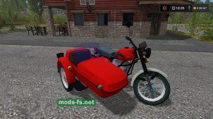 Мод отечественного мотоцикла ИЖ для FS 17