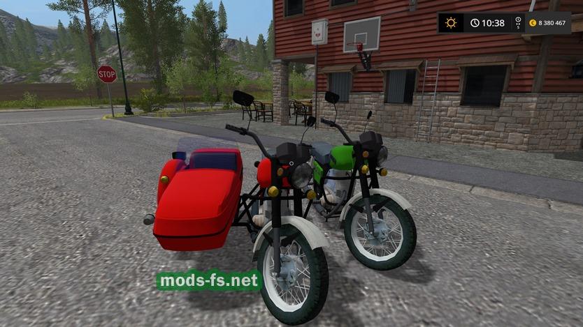 скачать мод на мотоцикл для Farming Simulator 2017 - фото 5