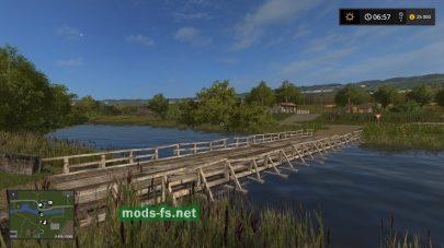 Мост на карте «Березовка»