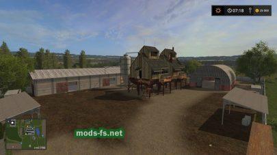 ЗАВ в игре Farming Simulator 2017