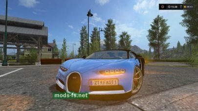 Мод Bugatti Chiron для FS 17