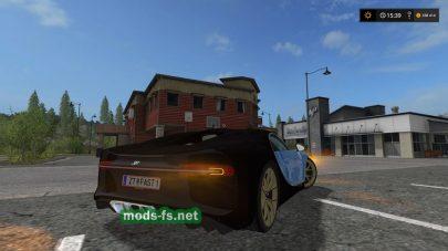 Bugatti Chiron для Farming Simulator 2017