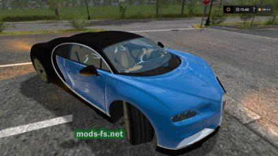 Мод автомобиля Bugatti