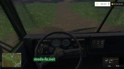 Мод КамАЗ-4310 для FS 15