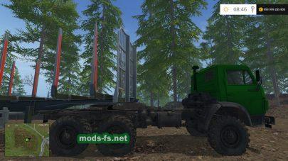 КамАЗ лесовоз для игры FS 2015