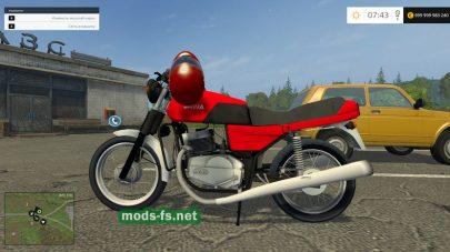Мотоцикл Ява для Farming Simulator 2015