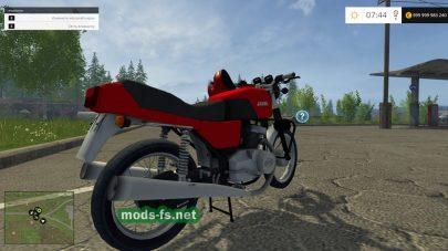 Мод русского мотоцикла Ява