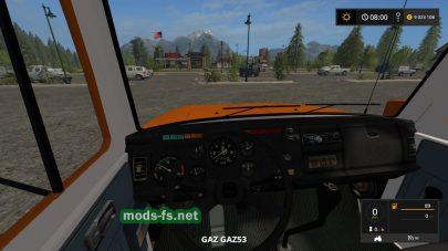 Грузовик ГАЗ для Farming Simulator 2017