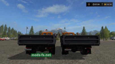 Gaz 3307 mods
