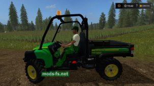 Мод John Deere Gator HPX Diesel для FS 17
