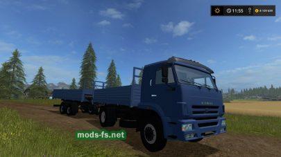 Kamaz 45253 mods FS