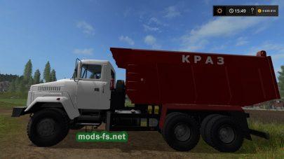 Мод на самосвал КРАЗ-65055
