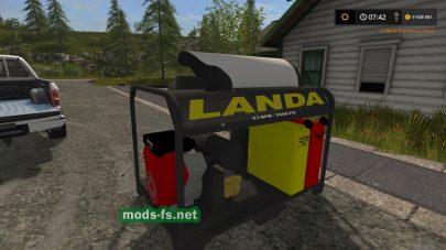 Landa Placeable Pressure Washer mods