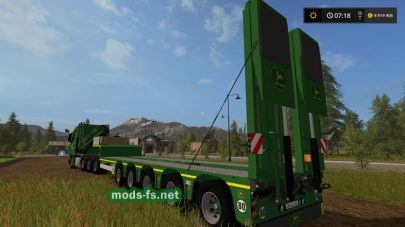 Mercedes Actros SLT JD Green