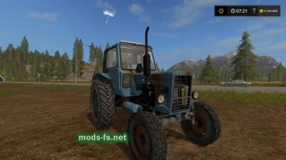 Ржавый МТЗ 80 для игры Farming Simulator 2017