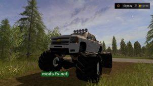 Chevy Mud Truck Bman Edition