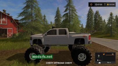 Автомобиль на больших колесах для Farming Simulator 2017