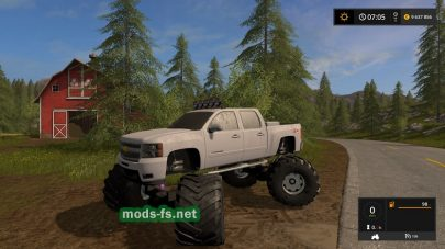 Chevy Mud mods