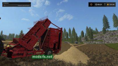 Подборщик для Farming Simulator 2017