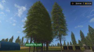 Мод на ель для Farming Simulator 2017