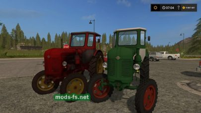 Мод трактора RS14