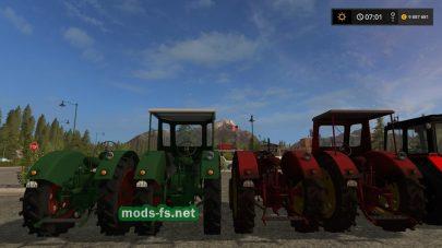 Мод пак тракторов RS14