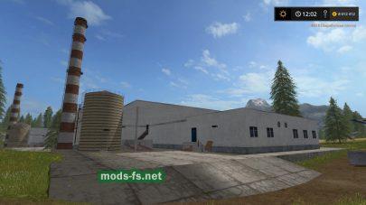Сахарный завод для игры Farming Simulator 2017
