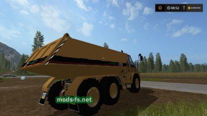 Огромный грузовик Caterpillar для FS 17