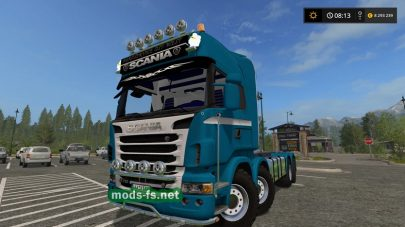 Scania R730 8X8 IT RUNNER для FS 17