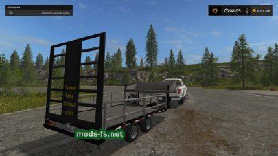 Мод на платформу для перевозки техники «Small Utility Trailer»