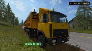 Тягач МАЗ-5432 для Farming Simulator 2017