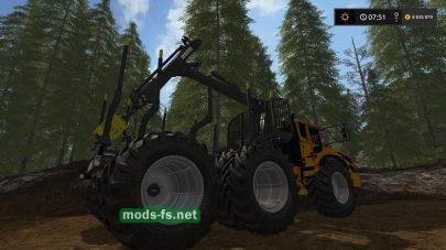 Мощная техника для лесозаготовки в Farming Simulator 2017